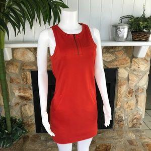 Trina Turk 'Mima' Silk 1/4 Zip Sleeveless Dress 4